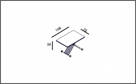 Switch Table - Technical drawing